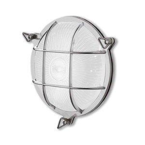 Moretti Nástenné svetlo Tortuga 200.20 okrúhle nikel/opál