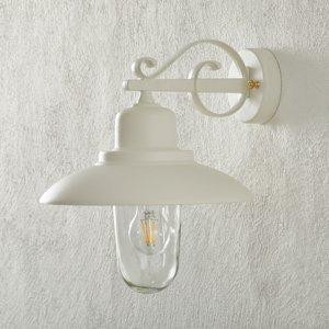 Moretti LUCE Vonkajšie nástenné svietidlo 4101, biele