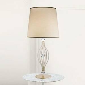 Masiero Stolná lampa ANOUK slonovinovej farby