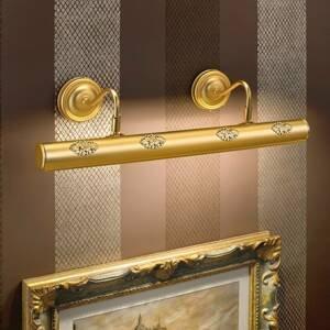 Masiero Henrika – pozlátené obrazové svetlo s dekórom