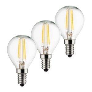 Müller-Licht Kvapková LED žiarovka E14 4W 2700K filament 3 ks