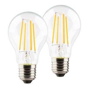 Müller-Licht LED žiarovka E27 A60 retro 6W 2700K číra 2 kusy