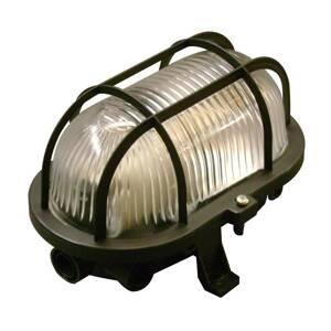 Müller-Licht Nástenné svietidlo Basic Oval, čierna