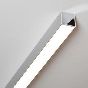 Molto Luce Ride stropné LED svietidlo eloxovaný hliník 85,7cm