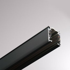 GLOBAL 3-fázová koľajnica Noa hliník 100cm, čierna