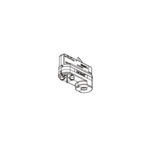 GLOBAL 3-fázový multiadaptér Noa, nosnosť 10kg, biely