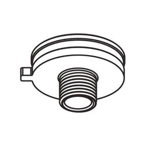 GLOBAL Hliníková vsuvka pre adaptér koľajnice M 10 x 1