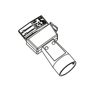 GLOBAL Schuko adaptér 3 fázovej prívodnej koľajnice Noa