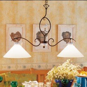 Menzel Menzel Provence Chalet – závesná lampa 2-pl.