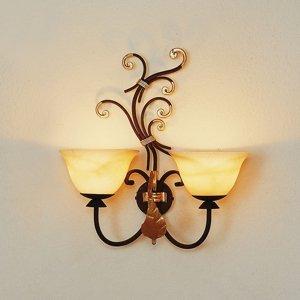 Menzel Menzel Florence dvoj-plameňové nástenné svietidlo