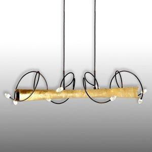 Menzel Menzel Donna závesné LED s lístkovým zlatom