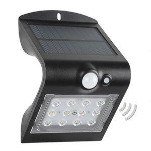 MEGATRON Solárne nástenné LED svietidlo Wave S so snímačom