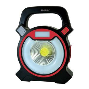 MEGATRON LED reflektor Helfa S s batériou, 2 x 3W