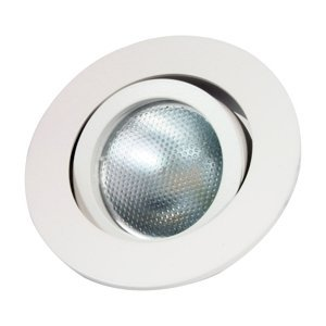 MEGATRON Zapustený LED prstenec Decoclic GU10/GU5.3 biely