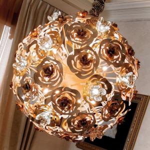 Masca Umelecké LED závesné svietidlo VIE EN ROSE