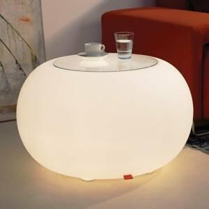 Moree Stôl BUBBLE Indoor E27-žiarovka+sklená doska