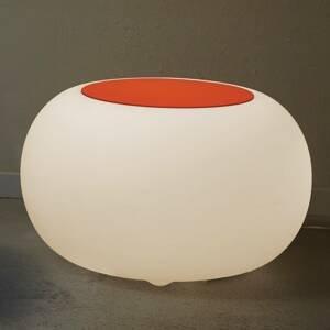 Moree Stôl BUBBLE Indoor LED E27 žiarovka +plsť oranžová