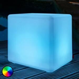 Moree Vonkajšie deko LED svietidlo Cube Outdoor batéria