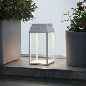 Moree Solárna LED lucerna Louis, biela