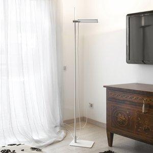 ICONE ICONE GiuUp – biela stojaca LED lampa