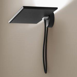 ICONE ICONE GiuUp nástenné LED svetlo, 20W, čierna