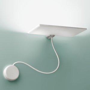ICONE ICONE GiuUp nástenné LED svetlo, 20 W, biela