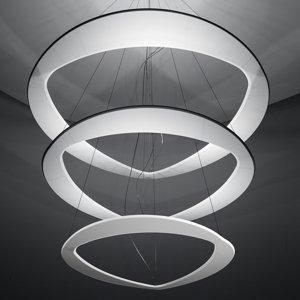ICONE ICONE Diadema biele závesné LED svietidlo