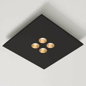 ICONE ICONE Confort stropné LED vo vznešenej čiernej