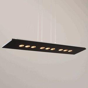 ICONE ICONE Confort závesné LED svietidlo čierno-zlaté