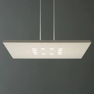 ICONE ICONE Confort závesné LED svietidlo vznešená biela