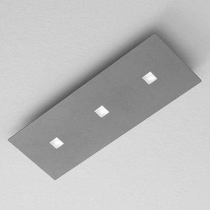 ICONE ICONE Isi stropné LED svietidlo v decentnej sivej