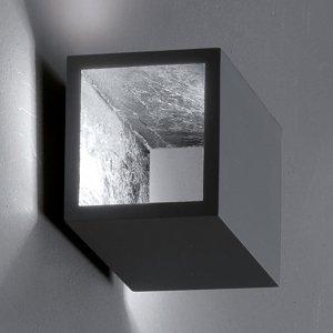 ICONE ICONE Cubò stropné LED svetlo 10W titán/striebro