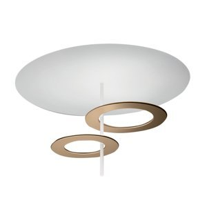 ICONE ICONE stropné LED svietidlo Hula Hoop P2 2 disky