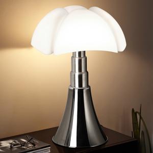 Martinelli Luce Martinelli Luce Pipistrello – stolná lampa, hliník