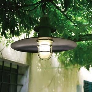 Martinelli Luce Martinelli Luce Polo závesná lampa Ø48cm antracit