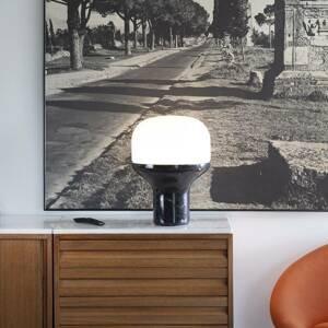 Martinelli Luce Martinelli Luce Delux stolná 43cm mramor čierna