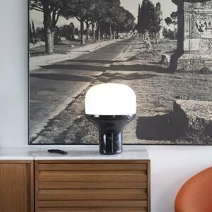 Martinelli Luce Martinelli Luce Delux stolná 22cm mramor čierna