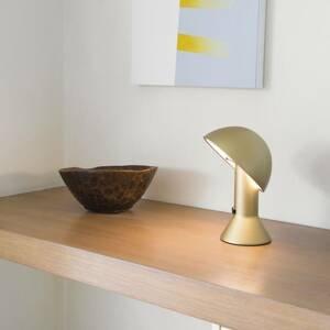 Martinelli Luce Martinelli Luce Elmetto – stolná lampa, zlatá