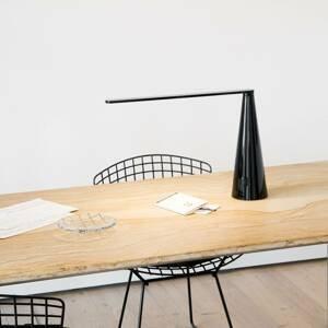 Martinelli Luce Martinelli Luce Elica stolná LED lampa, čierna