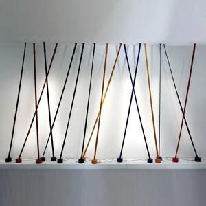 Martinelli Luce Martinelli Luce Elastica stojaca lampa, žltá