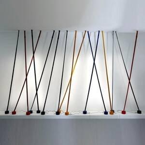 Martinelli Luce Martinelli Luce Elastica stojaca lampa, sivá