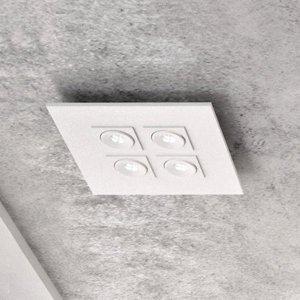 Milan Milan Marc – stropné LED svietidlo 4-pl. výkyvné