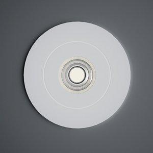 Milan Milan Bridge - kruhová LED zapustená lampa