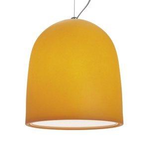 MODO LUCE Modo Luce Campanone závesná lampa Ø 51cm oranžová