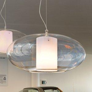 MODO LUCE Modo Luce Ellisse závesná lampa plast biela