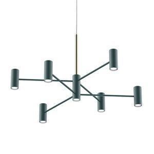 MODO LUCE Modo Luce Chandelier závesná lampa13p 100cm čierna