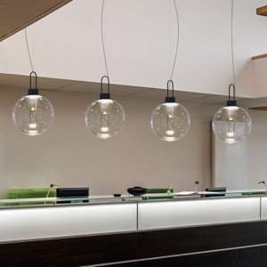 MODO LUCE Modo Luce Orb závesné LED svietidlo čierne Ø 40cm