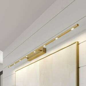 Lucande Lucande Tolu obrazové svetlo mosadz matná, 159cm