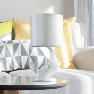 Maytoni Stolná lampa Nosorožec biela