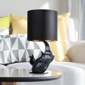 Maytoni Stolná lampa Nosorožec čierna
